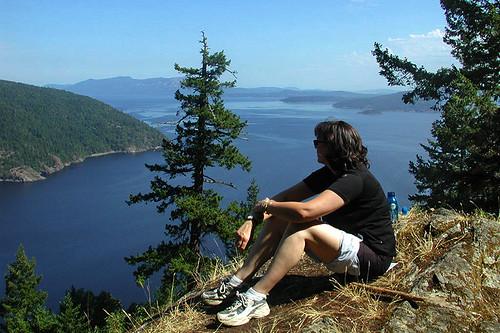 Gowlland Tod Park, Saanich Inlet, Highlands, Victoria, Vancouver Island, British Columbia, Canada
