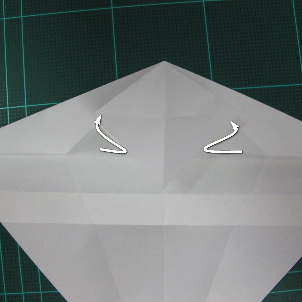 วิธีพับกระดาษเป็นรูปปลาแซลม่อน (Origami Salmon) 017
