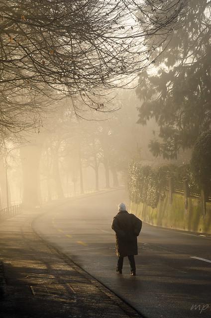 Walking down that road