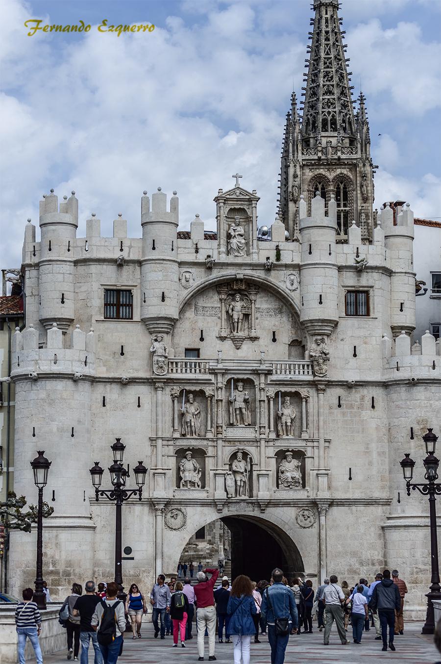 Arco y Torreón de Santa María