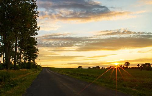 sunset summer home nature beautiful rural canon landscape peace farm country farming peaceful cny fields upstatenewyork friday 4thofjuly tgif 4thofjulyweekend dji djiphantom4