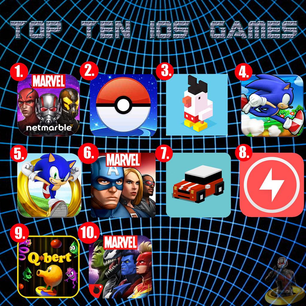 Top Ten iOS Games