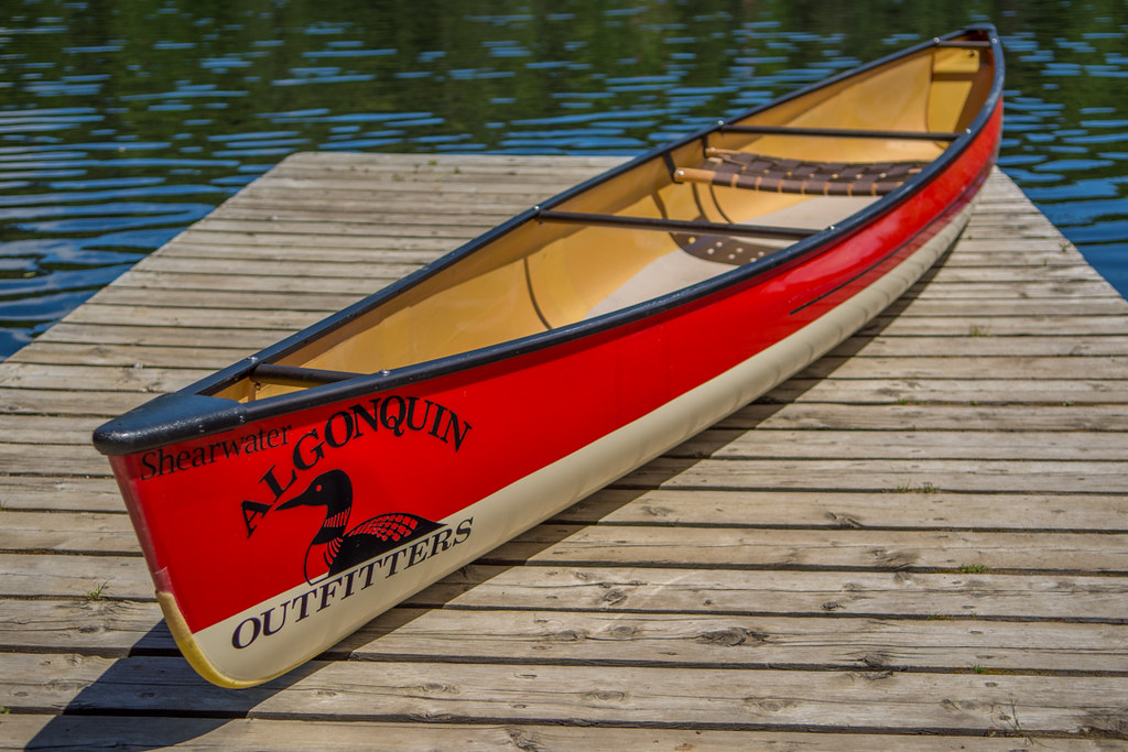Solo Kevlar Canoe | Swift Shearwater | Algonquin Outfitters