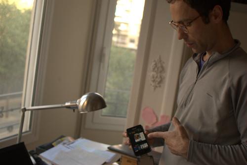 """""""Triskelion"""" en el lector Kindle de mi teléfono   by nicolas.boullosa"""