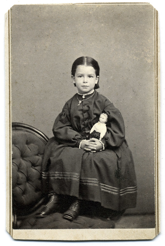 A Girl and Her Best Friend, 1864 or 1865