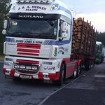 Jake parked up in Elgin