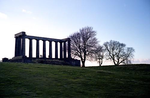 "Image titled ""National Monument, Edinburgh."""