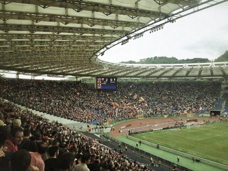 Stadio Olimpico - FORZA ROMA!