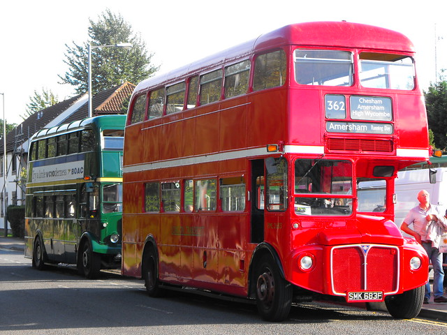 RML 2683 & RLH 48 @ the Amersham Running Day 2013