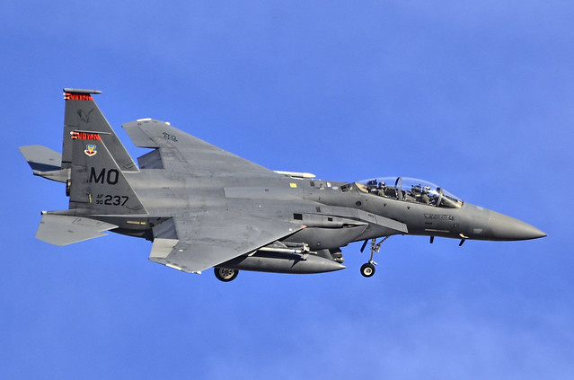 Red Flag, Nellis AFB, NV - F-15E Strike Eagle 90-0237 391st Fighter Squadron 366th Fighter Wing - Mountain Home Air Force Base, Idaho.