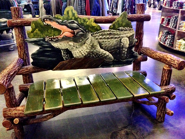 Alligator Bench