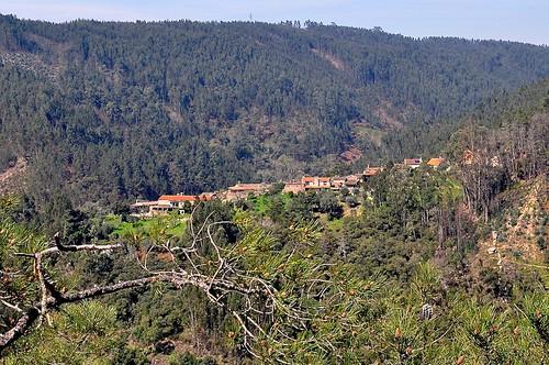 t landscape village hills schist casaldesaosimao centralportugal