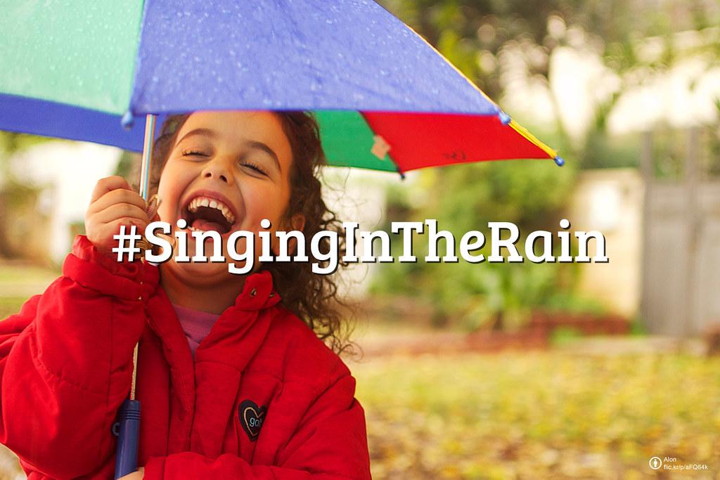 #FlickrFriday: Singing In The Rain