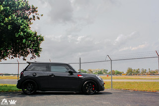 "Mini Cooper on 19"" CW-S6 Satin Black 