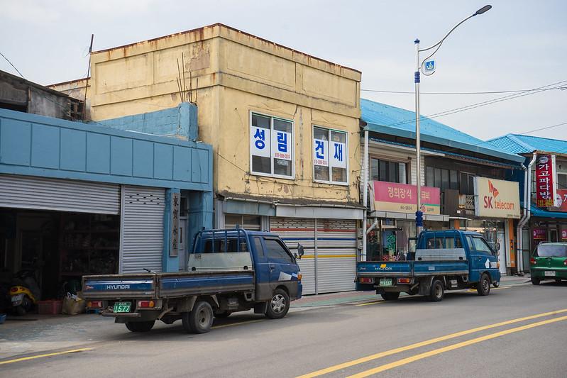Possible colonial era building, Gampo, South Korea