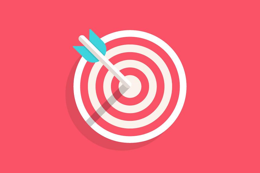 """En profesjonell tekstforfatter hjelpe deg med å treffe såkalt """"bullseye""""."""