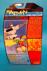 Dark Knight Returns Batman package back