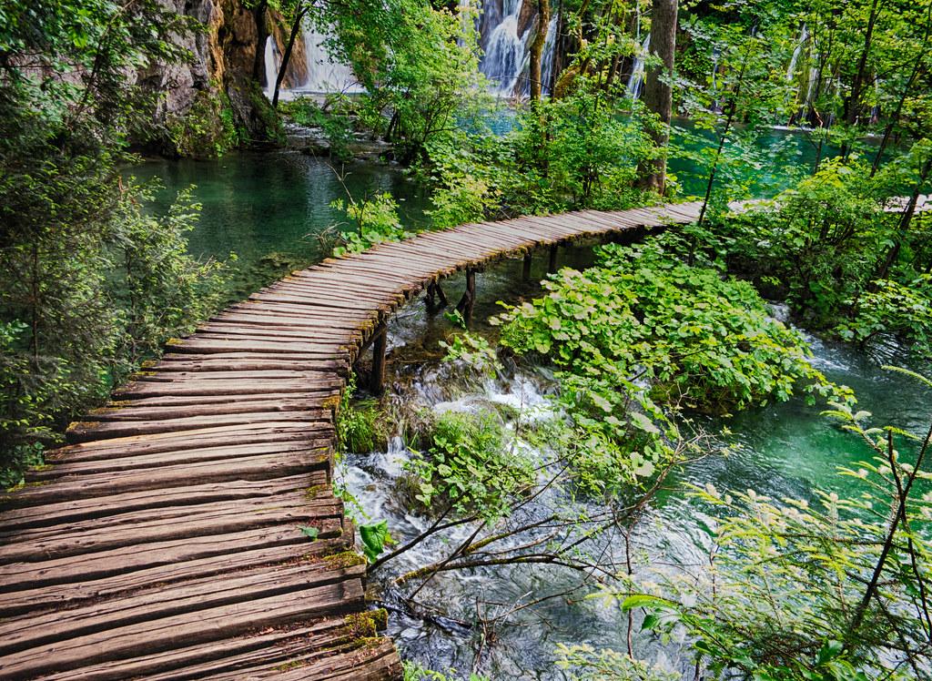 Plitvice bridge