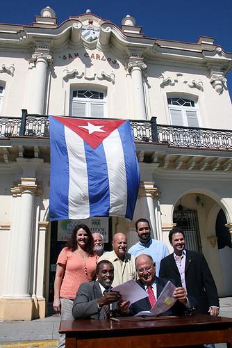 San Carlos- FKCC agreement signing 7-9-2013