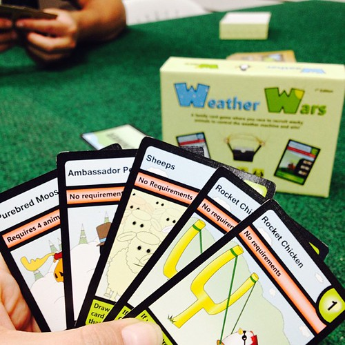 Weather Wars #cardgame, From CreativeCommonsPhoto