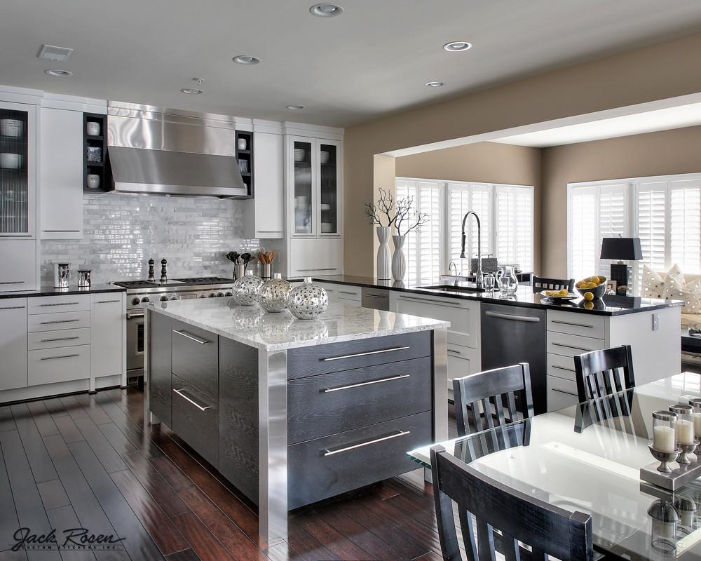 jack rosen custom kitchens modern kitchen with chrome ac flickr rh flickr com
