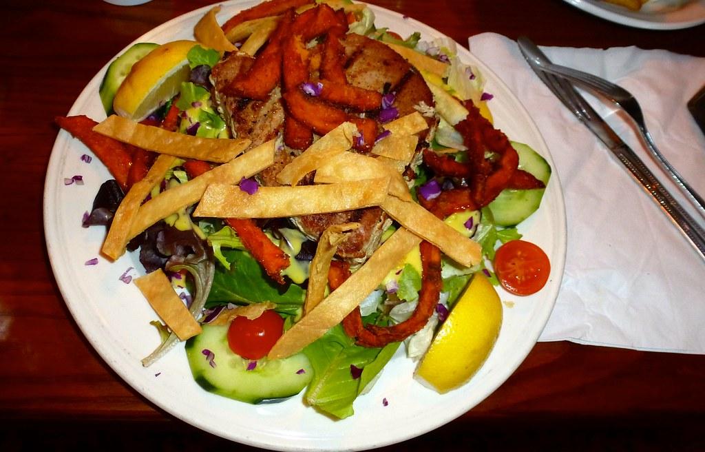 Delicious foods: Grilled mahi tuna, Monterey, CA | Ali