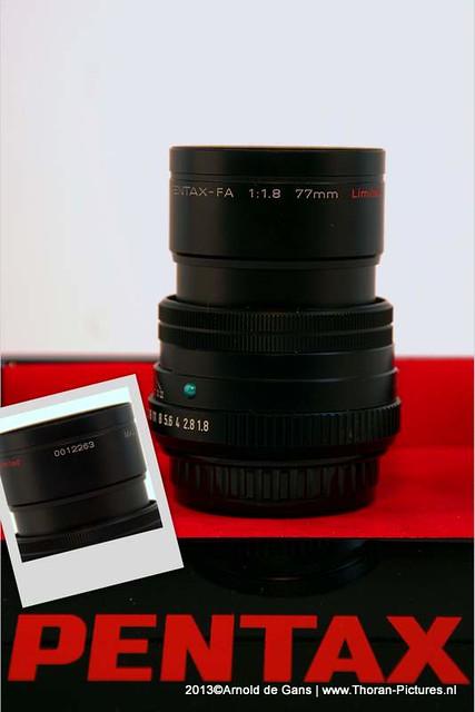 PENTAX FA 77mm 1.8 Limited