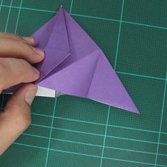 การพับกระดาษเป็นฐานนกอินทรี (Origami Eagle) 017