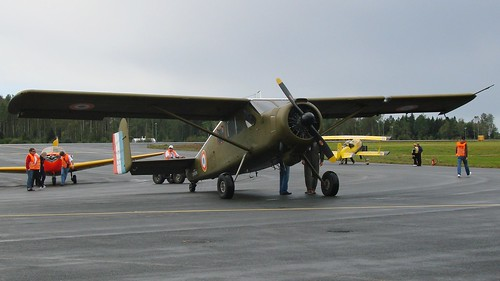 Max Holste MH-1521M Broussard at Rygge Air Show 2007   by J.Comstedt