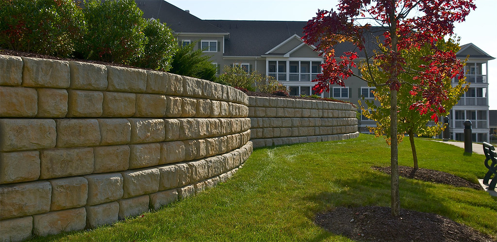 Retaining wall calculator: illustration