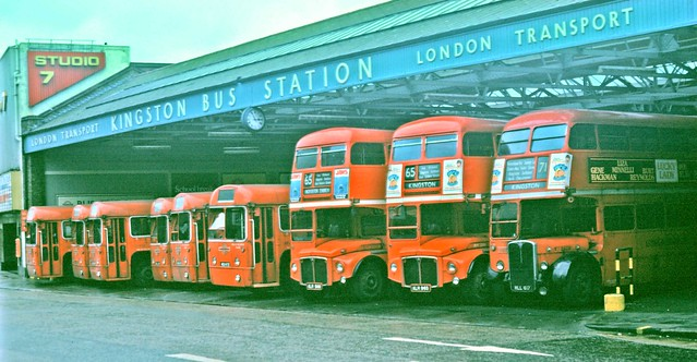 Kingston Bus Station, Christmas Day 1975 - with an anomaly