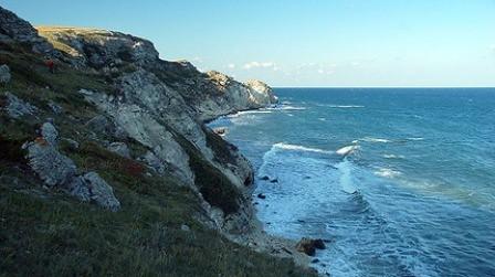 Cabo Tarjanjut en el Mar Negro