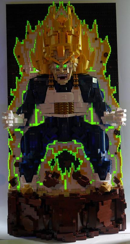 Vegeta Power Up dark and blacklight2