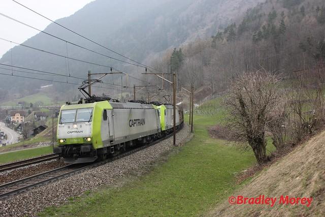 Captrain BR 185 541 & 549