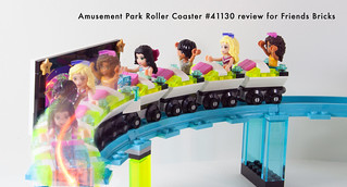 Set Review for Friends Bricks: 41130 Roller Coaster-26 | by fujiia.reviews