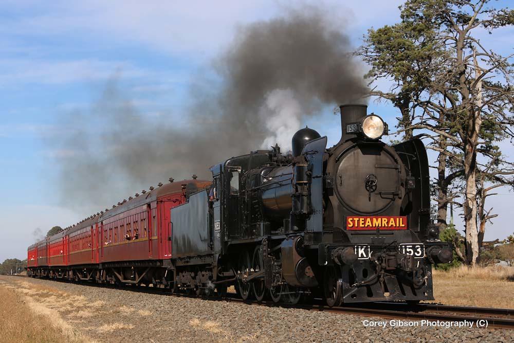 Steamrail K153 by Corey Gibson