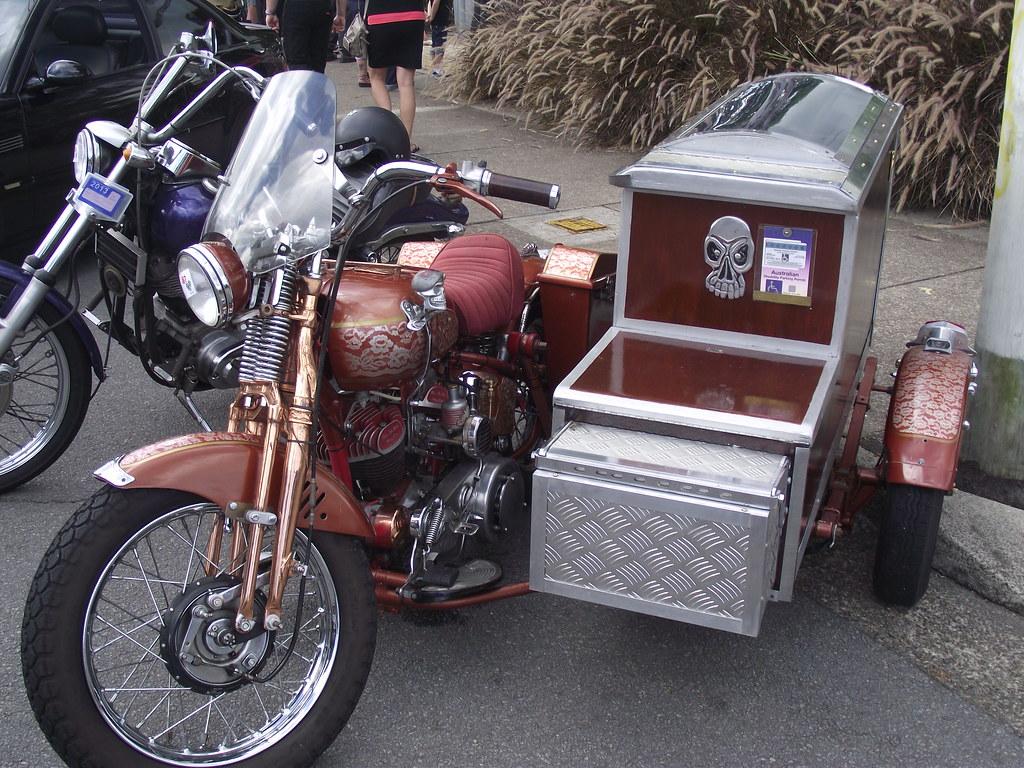 1942 Harley Davidson WLA Custom & Sidecar | This had crowds … | Flickr