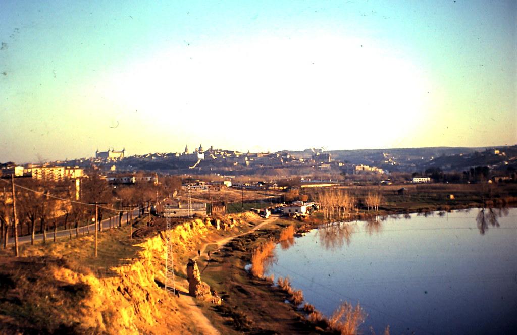 Carretera de Ávila hacia 1970. Cortesía de Julio Sánchez, autor de la fotografía.