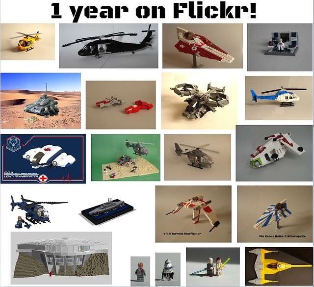 1 year on Flickr!