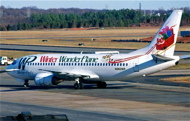 N962WP 737-300 Western Pacific Airlines