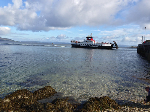 Ferry from Arran to Kintyre | by sebastian.b.