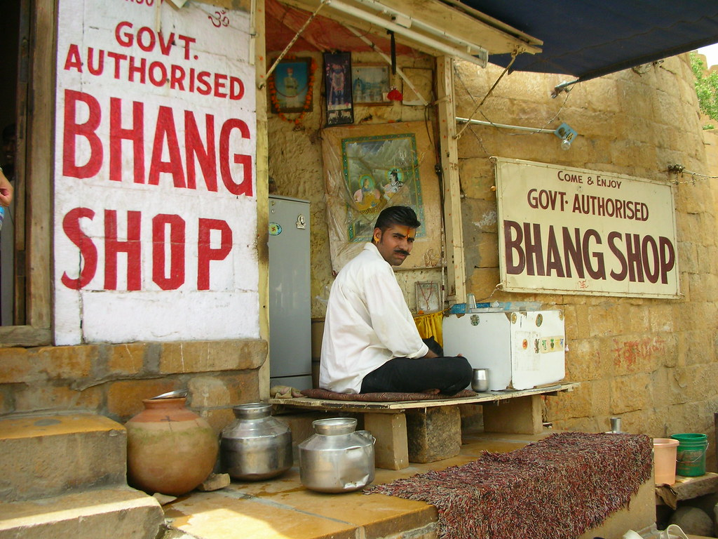 Govt. Authorised Bhang Shop, Jaisalmer | The bhang lassis ma… | Flickr