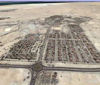 "Awali ""Manama Gate"" via Google Earth"