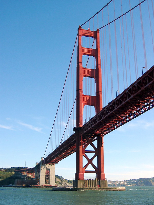 Golden Gate Bridge boat trip