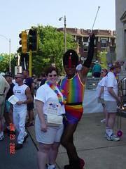 Baton Bob at St. Louis Pride 2002