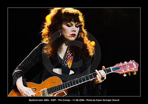 Poison Ivy, The Cramps | by Espen Stranger Seland