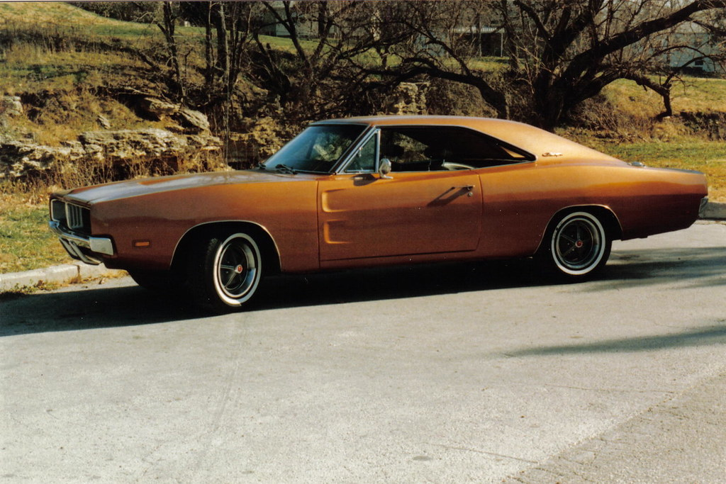 Copper 1969 Dodge Charger 383 C I D 4v Dual Turbo