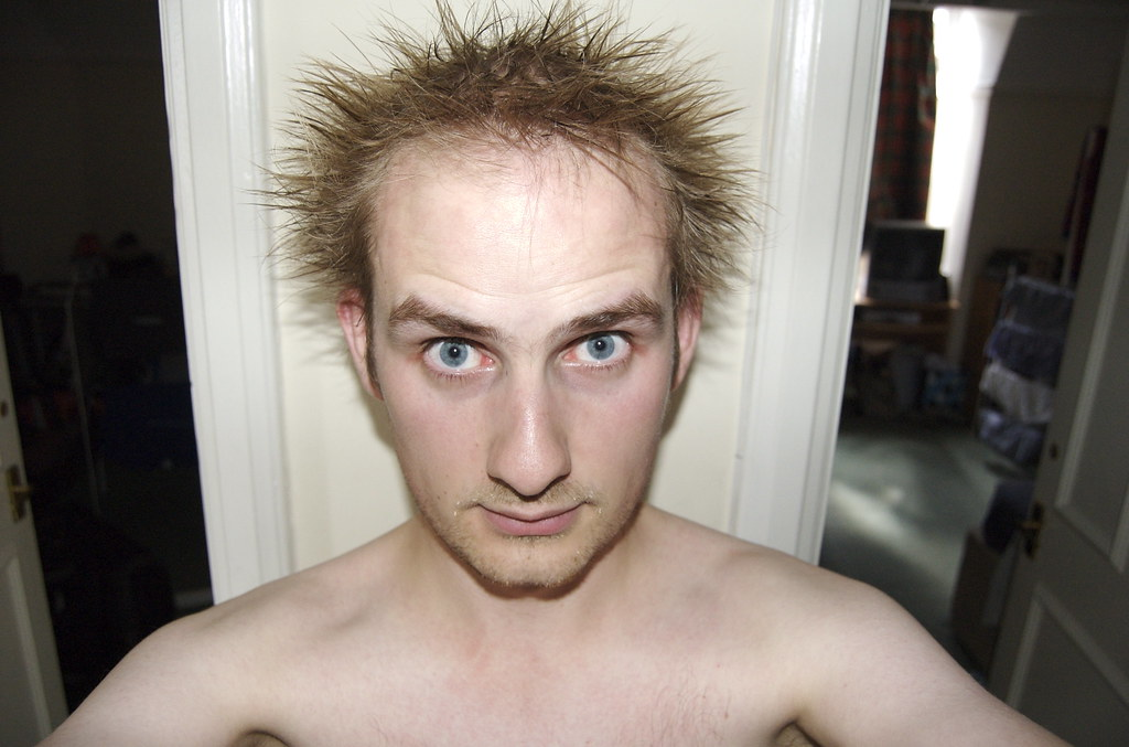 Me Spiky Hair Freakish