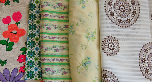 vintage fabric finds | by SouleMama