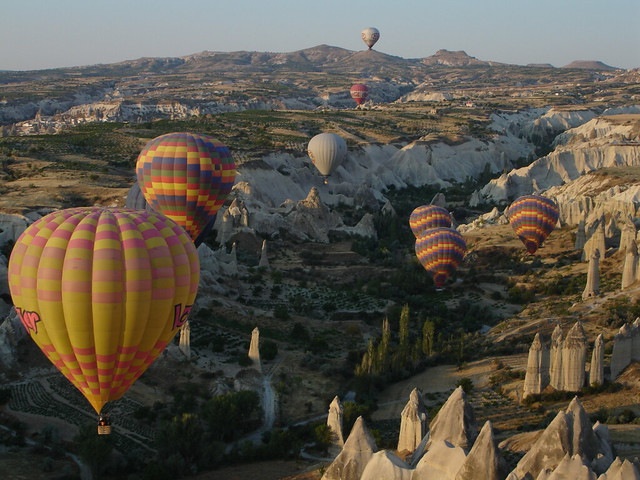 Balloons in Cappadocia / Erotic Valley / Turkey
